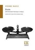 Pirrón (Pierre Bayle)-Trabalibros