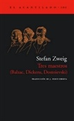 Tres maestros (Stefan Zweig)-Trabalibros