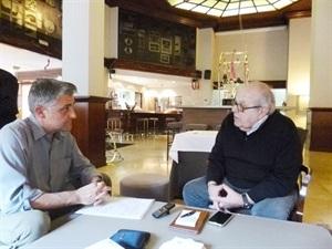 01.Bruno Montano de Trabalibros entrevista a Chufo Lloréns