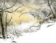 3.Luis Royo - El dragón de hielo (George R.R. Martin)-Trabalibros