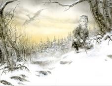 Luis Royo - El dragón de hielo (George R.R. Martin)-Trabalibros