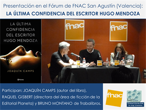 Presentación Fnac Joaquín Camps-Bruno Montano