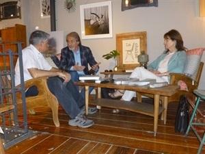 01.Bruno Montano entrevista a M.Carmen Olazar y Félix Arenas