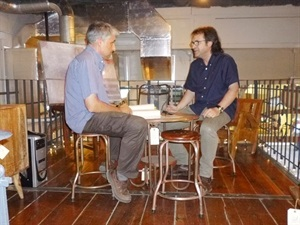 01.Bruno Montano de Trabalibros entrevista a Juan Francisco Ferrándiz