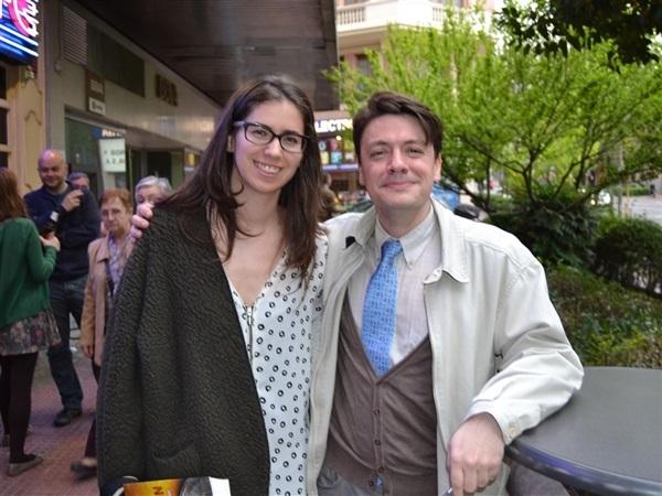 01.Amanda Simón con Luis Montero Manglano-Trabalibros