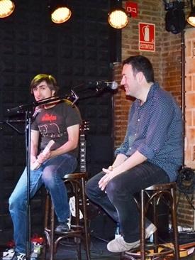 00.Concierto presentación El mal camino (Mikel Santiago)-Trabalibros
