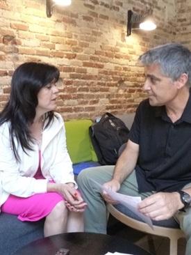 00.Bruno Montano de Trabalibros entrevista a Francisca Serrano