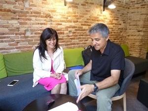 01.Bruno Montano de Trabalibros entrevista a Francisca Serrano