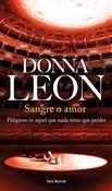 Sangre o amor (Donna Leon)-Trabalibros