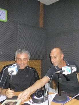 Bruno Montano y Ramón Palomar en Valencia Radio