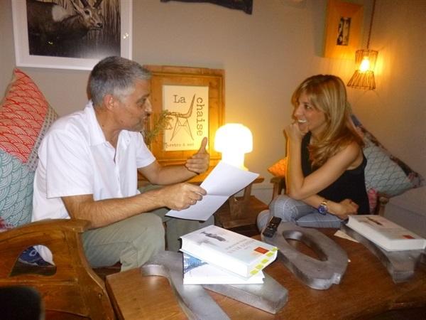 01.Bruno Montano entrevista a Reyes Monforte-Trabalibros