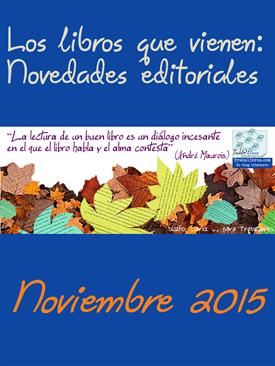 Novedades editoriales NOVIEMBRE 2015 Título
