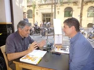 01.Bruno Montano entrevista a Fernando Trías de Bes-Trabalibros