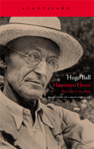 Hermann Hesse. Su vida y su obra (Hugo Ball)-Trabalibros