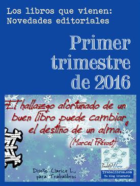 Novedades editoriales ENERO 2016