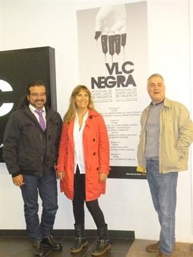 00.Juanjo Braulio, Julio C. Cano y Mercedes Rosende-Trabalibros