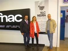 01.Juanjo Braulio, Julio C. Cano y Mercedes Rosende-Trabalibros