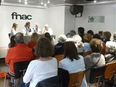 05.Juanjo Braulio, Julio C. Cano y Mercedes Rosende-Trabalibros