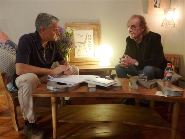 01.Bruno Montano de Trabalibros entrevista a Aute