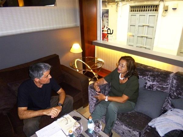 01.Bruno Montano entrevista a Inma Chacón