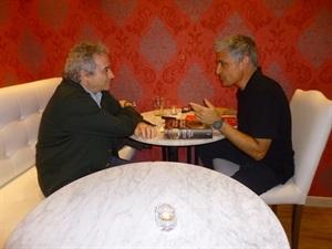 01.Bruno Montano entrevista a Ildefonso Falcones-Trabalibros.JPG