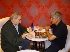 09.Bruno Montano entrevista a Ildefonso Falcones-Trabalibros.JPG