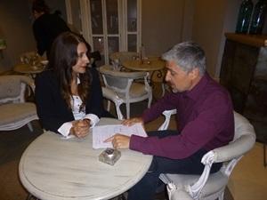 01.Bruno Montano entrevista a Dolores Redondo-Trabalibros