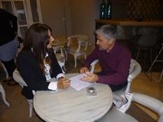 06.Bruno Montano entrevista a Dolores Redondo-Trabalibros