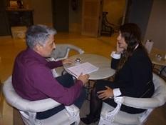 07.Bruno Montano entrevista a Dolores Redondo-Trabalibros