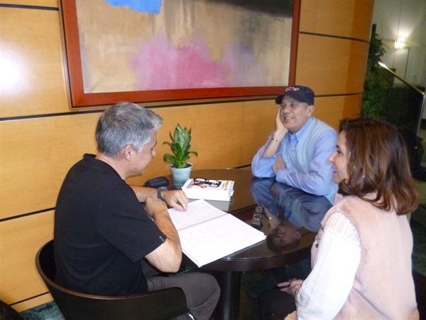 01.Bruno Montano entrevista a Federico Moccia-Trabalibros
