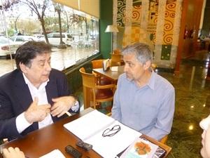 01.Bruno Montano de Trabalibros entrevista a Luis Landero
