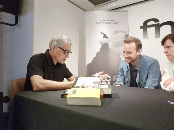 01.Bruno Montano entrevista a Joël Dicker