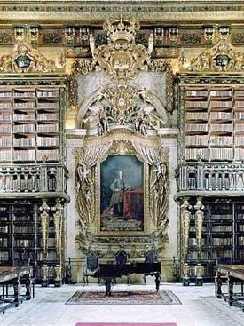 00.Biblioteca Joanina, Coímbra, Portugal-Trabalibros