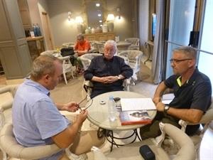 01.Bruno Montano entrevista a Joaquín Leguina y Ruben Buren-Trabalibros