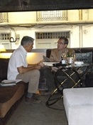 10.Bruno Montano entrevista a Santiago Posteguillo-Trabalibros