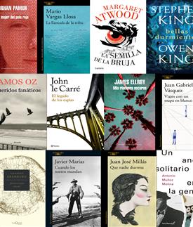 Novedades literarias 2018-Trabalibros