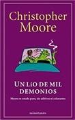 Un lío de mil demonios (Christopher Moore)-Trabalibros