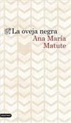 La oveja negra (Ana María Matute)-Trabalibros