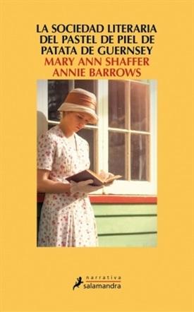 La sociedad literaria del pastel de piel de patata de Guernsey (Mary Ann Shaffer)-Trabalibros