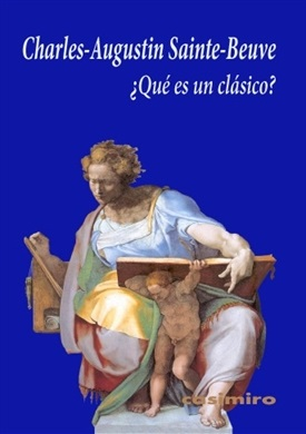 Qué es un clásico (Sainte-Beuve)-Trabalibros