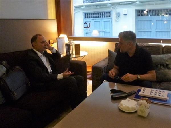 01.Bruno Montano de Trabalibros entrevista a Vicente Garrido