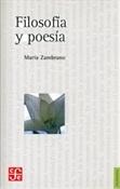 Filosofía y poesía (María Zambrano)-Trabalibros