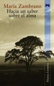 Hacia un saber sobre el alma (María Zambrano)-Trabalibros