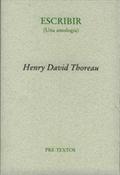 Escribir (Henry David Thoreau)-Trabalibros