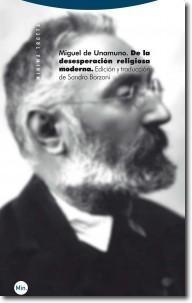 De la desesperación religiosa moderna (Miguel de Unamuno)-Trabalibros