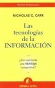 Las tecnologías de la información (Nicholas Carr)-Trabalibros