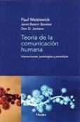 Teoría de la comunicación humana (Paul Watzlawick)-Trabalibros