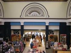Librería Borders en Glasgow-Trabalibros