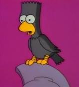 Los Simpson-El cuervo (Edgar Allan Poe)2-Trabalibros