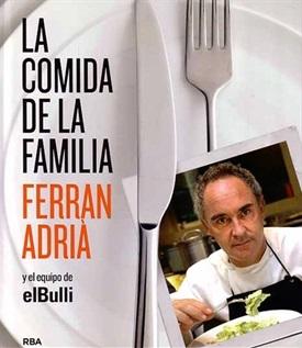 La comida de la familia (Ferran Adrià)-Trabalibros